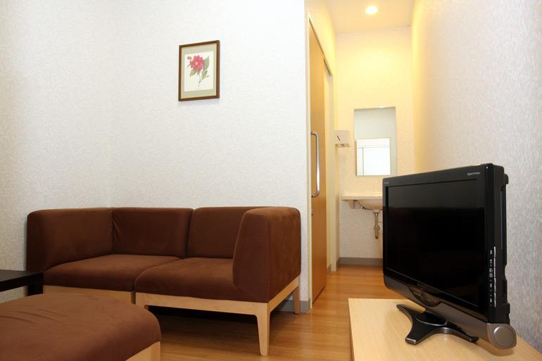大腸内視鏡前処置室